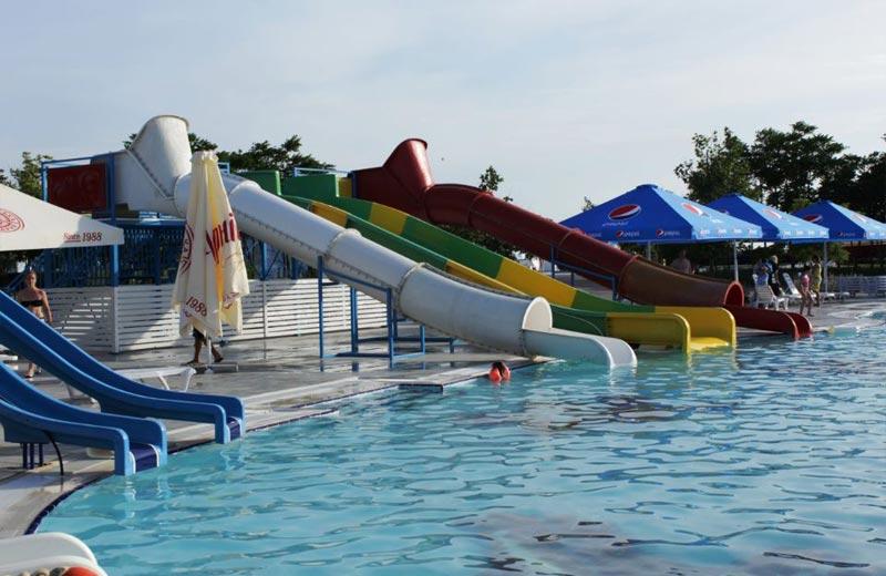«Детская крепость» горки в аквапарке Бердянска