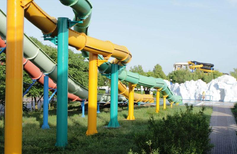 «Кольцо удава» горки в аквапарке Бердянска