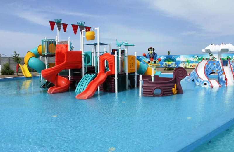 «Корабль» горки в аквапарке Бердянска