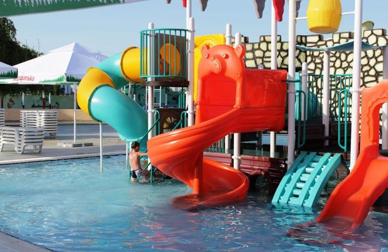 «Мультислайд» горки в аквапарке Бердянска