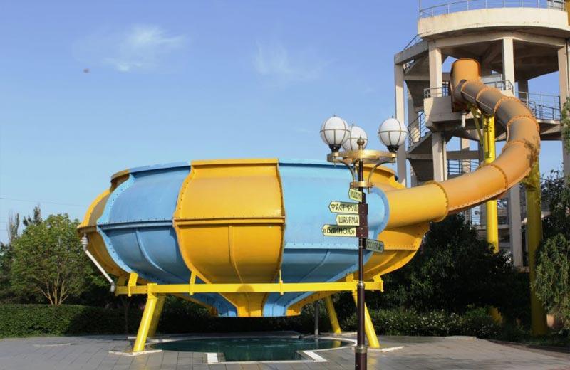 «Тайна Бермуд» горки в аквапарке Бердянска